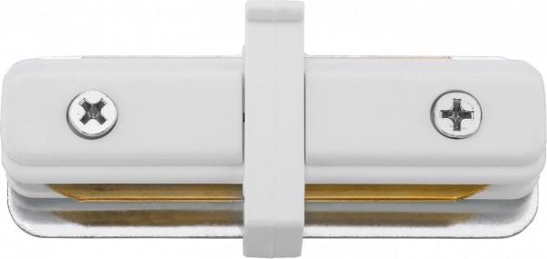 PROFILE STRAIGHT CONNECTOR white 9454
