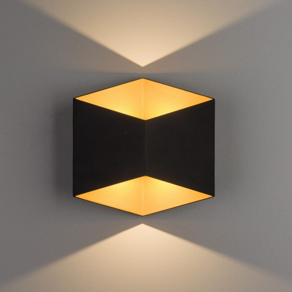 TRIANGLES LED black-gold 8141