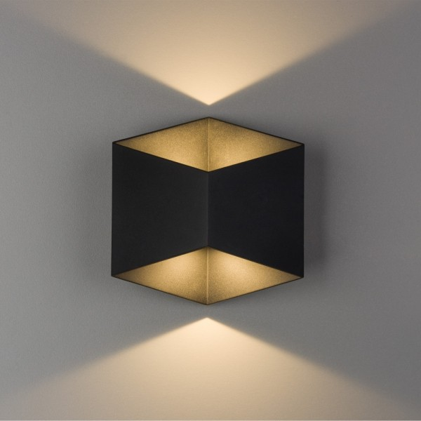 TRIANGLES LED black 8142