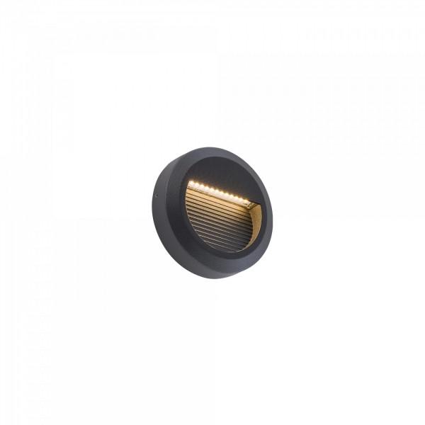 SIDEWALK ROUND LED black 8147