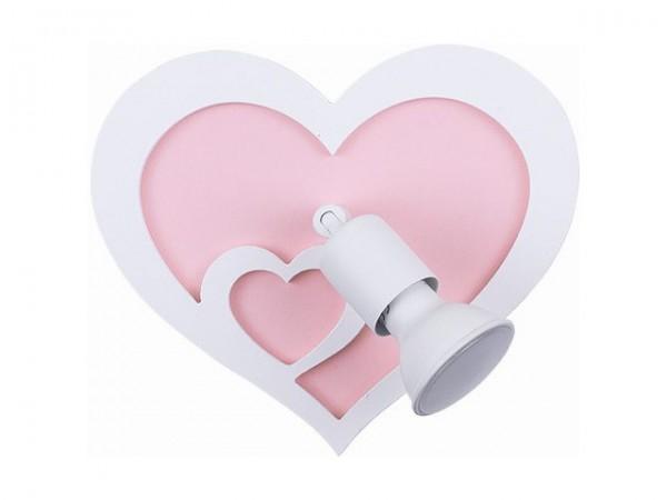 HEART kinkiet 9062