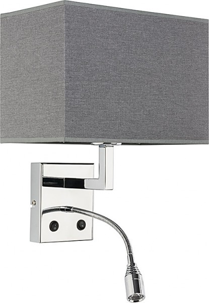 HOTEL LED grey  9302