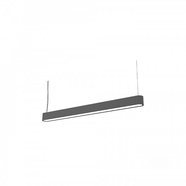 SOFT LED graphite 120x6 zwis 9543