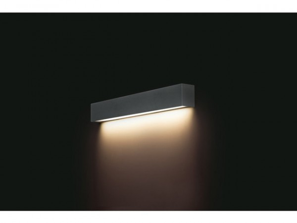 STRAIGHT WALL LED graphite S 9618