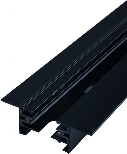PROFILE RECESSED TRACK 2 METRE black 9015