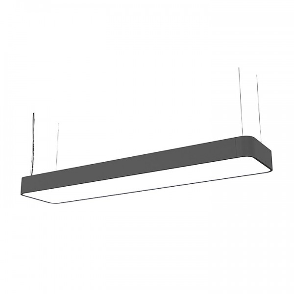 SOFT LED graphite 90x20 zwis 9542