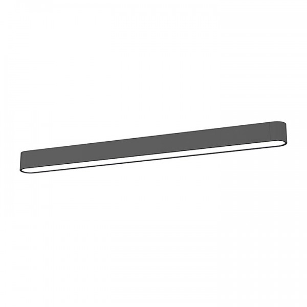 SOFT LED graphite 90x6 plafon 9536