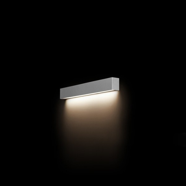 STRAIGHT WALL LED silver S 9613