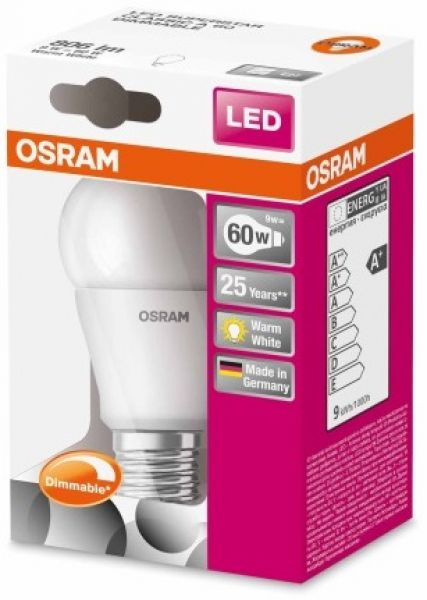 LED 9W E27 DIMMABLE